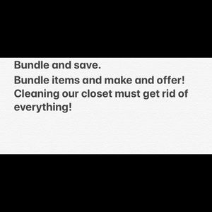 Other - Bundle items and make offer!
